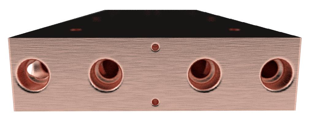 Copper gun grilled heatsink image